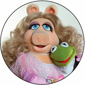 Peggy et Kermit