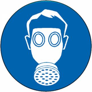 Masque à gaz obligatoire