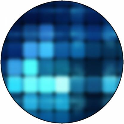 Pixels (bleu)