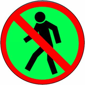 Interdiction de circuler