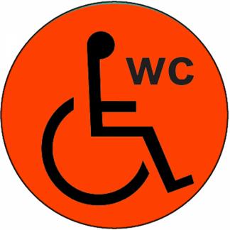 Toilettes pour handicapés